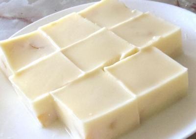 マンゴーミルク寒天