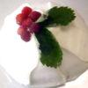 チョコとラズベリーのドームケーキ