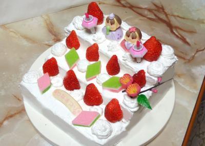雛段ケーキ