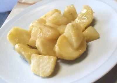 味噌バターポテト