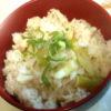筍と鶏肉の炊き込みご飯