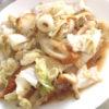白菜と竹輪の時短煮物