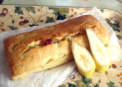 ラムバナナのパウンドケーキ