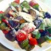 夏野菜のチーズソテー