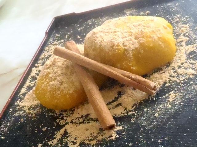 南瓜の黄金餅