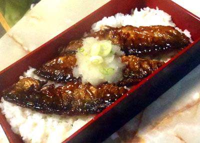 秋刀魚の蒲焼丼・おろし乗せ