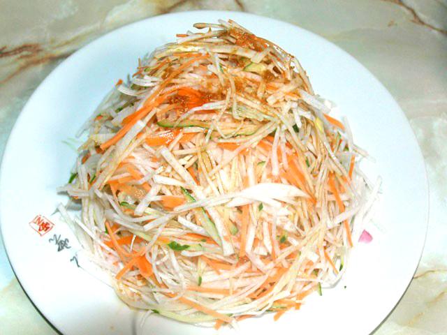 野菜の和風サラダ
