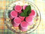 苺のフローズンデザート