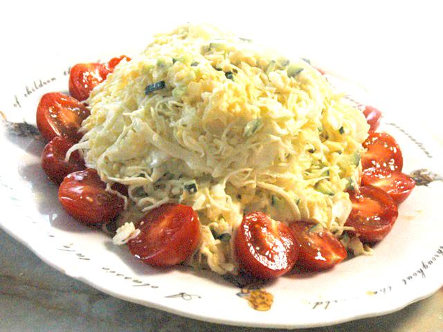 キャベツのタルタル風サラダ