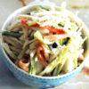 大根とかにかまのサラダ