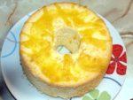 柚子のシフォンケーキ