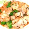 鶏モモと玉ねぎのケチャップ炒め