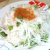 梅ドレの大根サラダ