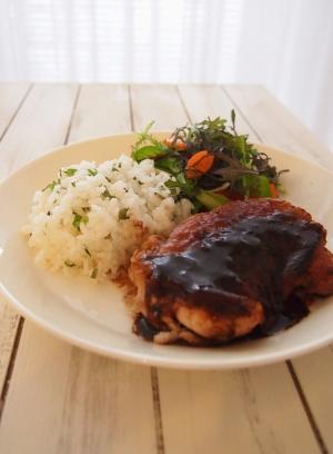 楽天レシピのススメ:バレンタインに♡ チキンステーキ ラズベリーソース