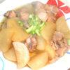 圧力鍋で味がしみしみ!冬に食べたい鶏と大根の煮物♪