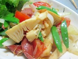 楽天レシピのススメ:やってみたらきっとはまる☆筍のホットサラダ♪