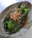 万願寺とうがらしの焼き浸し:楽天レシピのススメ