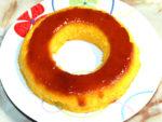 ハロウィンに!南瓜の焼きプリン風ケーキ♪