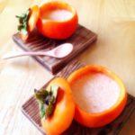 柿プリン♪ :楽天レシピのススメ