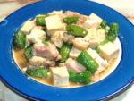 ししとうでちょっとピリ辛!豆腐の味噌チャンプルー♪