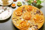 リンゴの薔薇が素敵♪もちもちがクセになる絶品ケーキ:楽天レシピのススメ