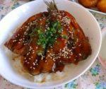 タレが美味しい☆いわしの蒲焼丼:楽天レシピのすすめ
