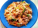 プルコギ風♪牛肉と野菜の辛味噌炒め!