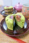 米粉 de 栗と抹茶のマフィン(グルテンフリー):楽天レシピのすすめ