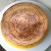 クモの糸風でハロウィン!南瓜のチーズケーキ♪