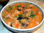 鍋一つで出来る!茄子とトマトと鶏モモの洋風煮♪