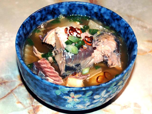 鯖の水煮缶アレンジ!白菜と鯖水煮のシンプル煮物♪