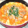 冬に温まろう!鶏モモと白菜のにんにく味噌鍋♪
