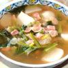 かぶのほっとするホットスープ!すぐ煮えるから簡単♪