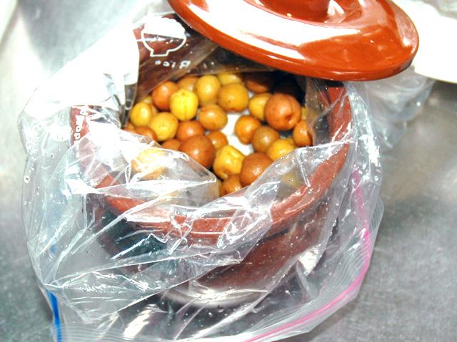 簡単な梅漬けでご飯のお供に!小梅のカリカリ漬け♪