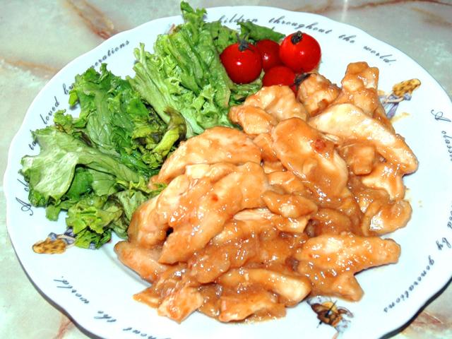 ご飯のおかずにぴったり!鶏胸肉の甘味噌スティック風