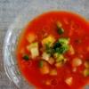 野菜ジュースで♪モリモリ食べる簡単ガスパチョ:楽天レシピのすすめ
