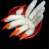 楽天レシピのすすめ:リアル!3D魔女の手 ー大根と人参の浅漬けー