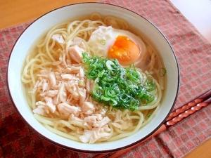 楽天レシピのすすめ:簡単手抜き版☆あっさり鶏そば♪