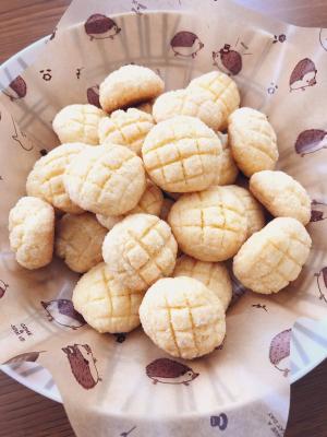 楽天レシピのすすめ:HMで簡単★メロンパンクッキー