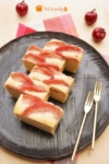 楽天レシピのすすめ:簡単*りんごのチーズケーキ