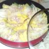 シンプルな塩味で!白菜と豚こまのミルフィーユ鍋♪
