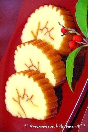 楽天レシピのすすめ:お節に♥ケーキみたい♥フワフワ伊達巻♪