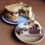 楽天レシピのすすめ:チョコマーブルチーズケーキ♪