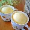 楽天レシピのすすめ:*モコモコ~♪レンジdeマグカップ蒸しパン*