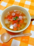 楽天レシピのすすめ:温まる(*^^*) 大根のコンソメスープ♪