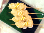白あんに柚子を加えてゆず餡で!爽やかなゆず串団子♪