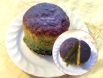 バレンタインに!抹茶味のフォンダンショコラ風ケーキ