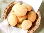 バターと卵なしでザクザク!レモンのオイルクッキー♪