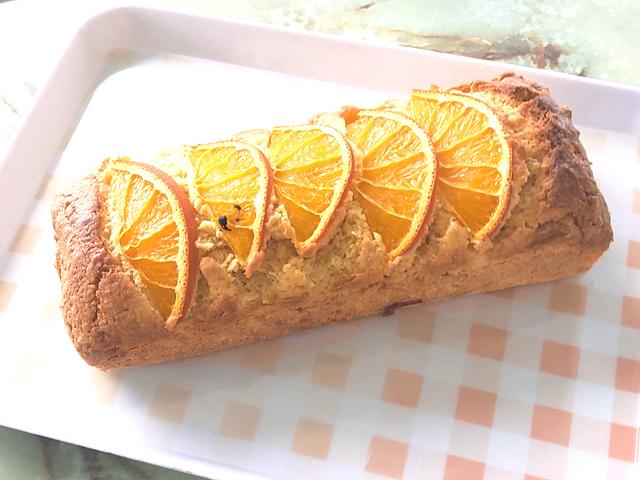 オレンジピールたっぷり!パウンドケーキのオランジェ
