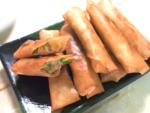 おつまみにも!枝豆とコーンチーズのパリパリ春巻き